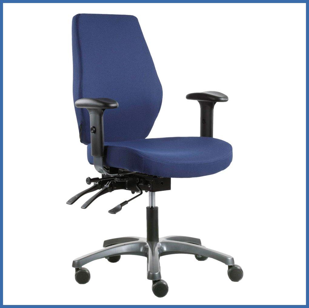Työtuoli Optimum on ergonominen toimistotuoli NKN työtuolissa nyt edullinen h
